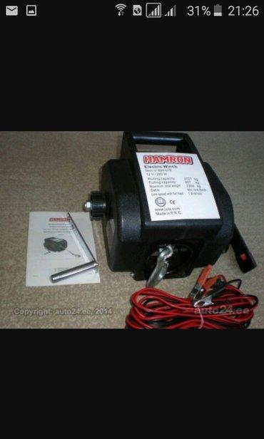 Продаю электро лебедку + ручной механизм! Покупал в Германии на Авто т в Бишкек
