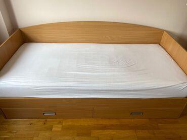 Jednostruki | Srbija: Krevet sa dusekom,ocuvan,bez ostecenja