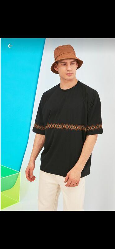 Стильные мужские футболки оверсайз, производство Турция