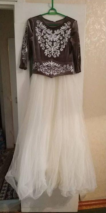 Продаётся национальное платье, 46 размер, одевала 1 раз, не