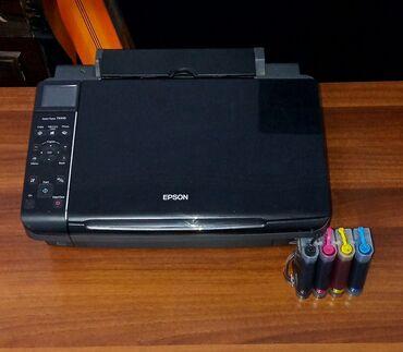 сканер нр в Кыргызстан: Цветной принтер, МФУ 3 в 1, Epson TX210. Принтер, сканер, ксерокопия