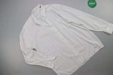 Чоловіча сорочка у смужку р. L    Довжина: 81 см Ширина плечей: 50 см