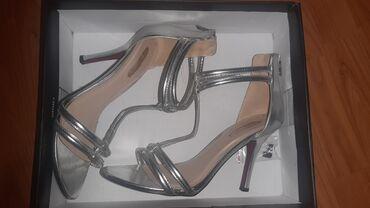 Srebrne primadonna sandale broj 39