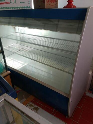 Электроника в Бактуу-Долоноту: Б/у Холодильник-витрина Синий холодильник