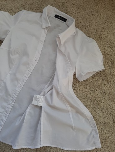 Bela košulja kratki rukav Hallhuber basic  - Novi Sad