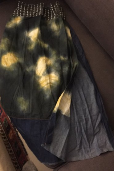 Μακρύα boho φούστα με μεγάλο σκίσιμο μπροστά .Gusto Barcelona Με λεπρό σε Υπόλοιπο Αττικής - εικόνες 2