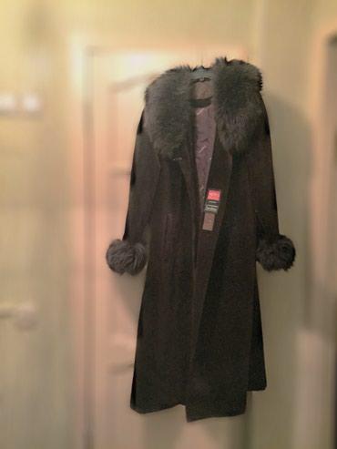 Продаю пальто, бархат.Б/У, в хорошем в Бишкек