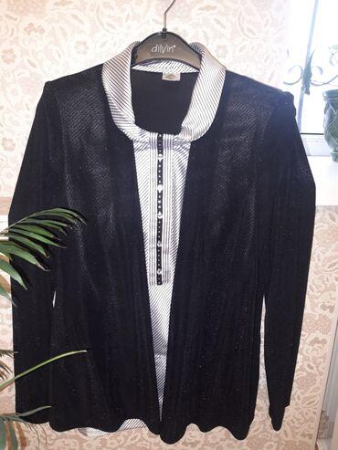 Блузка-обманка. Ткань: шёлк с рюликс. Производство: Польша. Размер:42