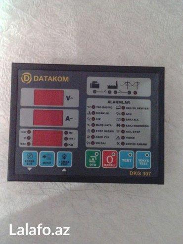 Bakı şəhərində Datakom 307(teze) Dizel Generatorlarinin idareedicisi(yeni