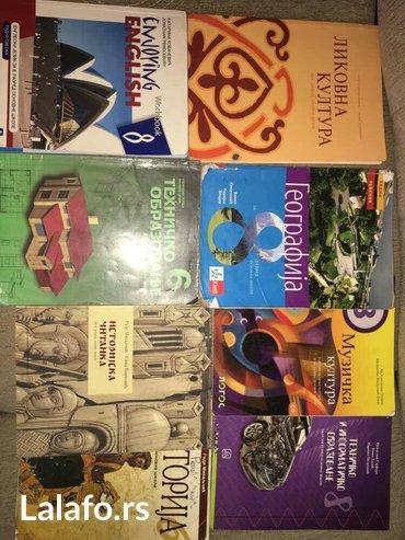 Knjige od i - viii razreda, od raznih izdavaca ( logos, klet, zavod, - Kraljevo