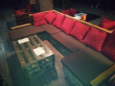 Отличный диван из палетов. в Бишкек