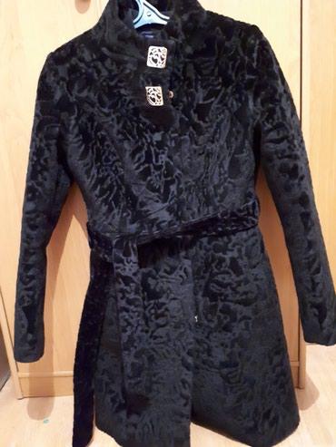 Пальто Каракуль подаю почти новая пару раз одевала. в Бишкек