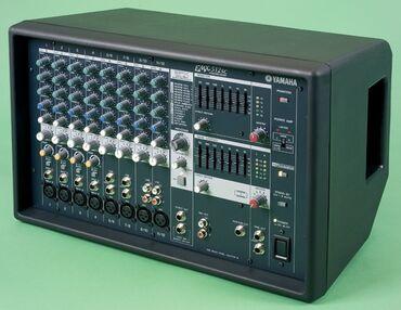 Микшер с усилением Yamaha EMX 512 SC  Многофункциональность. Усилитель