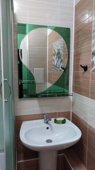 зеркало в комнате в Кыргызстан: Продаю двухконторное зеркало для ванной комнаты. Основное зеркало в