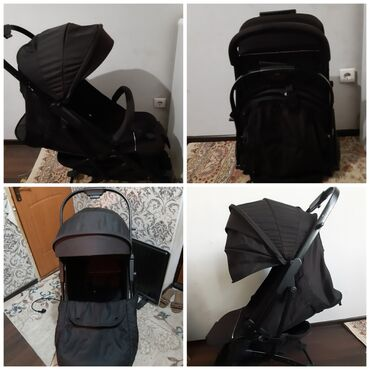 Прогулочная коляска чемодан. В комплекте зимний чехол на ножки. В