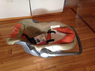Za visinu - Srbija: Nosiljka i sediste za bebe. U odlicnom stanju. Do 13kg i 48-57 cm