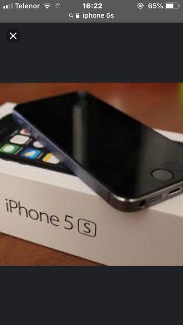 Apple Iphone - Novi Sad: Obnovljeni iPhone 5s 16 GB Crn