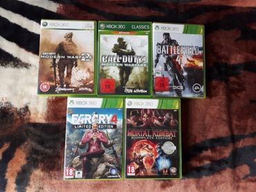 Xırdalan şəhərində Xbox 360 orginal oyunnar 1 ed 20 azn hamisin goturene endirim 80 azn