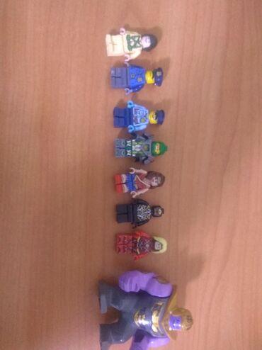 фигурки из мастики в Кыргызстан: Лего фигурки полицейский,полицейская,танос,веном,чудо женщина и лётчик