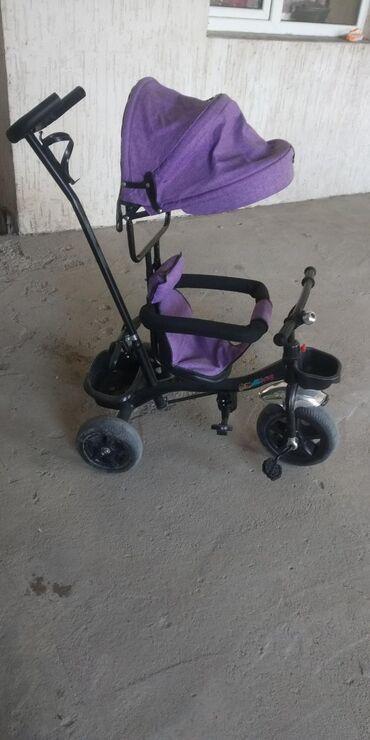 велосипед с детской коляской в Кыргызстан: Велосипед детский в идеальном состоянии. Катались пару раз. Продаю в