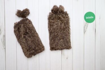 Аксессуары - Украина: Хутряні мітенки    Довжина: 38 см Ширина: 18 см  Стан: дуже гарний