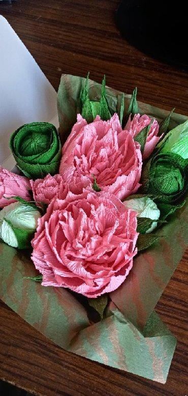 цветы пеларгонии в Кыргызстан: Цветы из бумаги