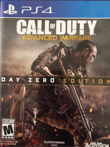 Продаю игру Call of Duty Advanced Warfare для Ps4 на в Бишкек