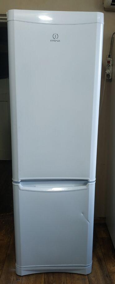 веб камеры sven в Кыргызстан: Б/у Двухкамерный Белый холодильник Indesit