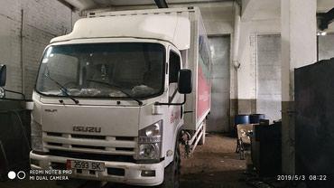 Грузовой и с/х транспорт - Кант: Фургон Isuzu Elf объем двигателя грузоподъемность 3,1 тонн, 2013 год