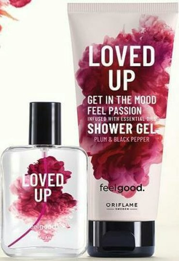 Love Up, 50ml.etir + dush geli, 200 ml. Oriflame