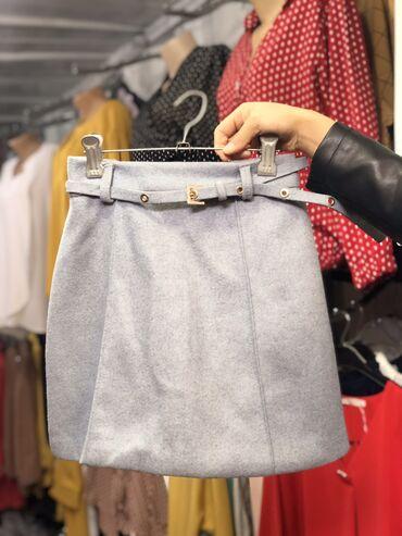 Твидовая юбка  На выход