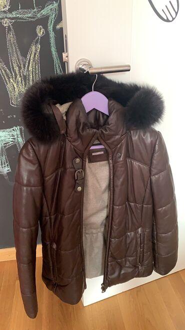 Nova zimska Kozna jakna