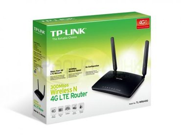 wi fi wingle 4g в Кыргызстан: Продаю Tp-Link TL-MR6400 (N300 4G LTE Wi-Fi роутер)Почти новый, в