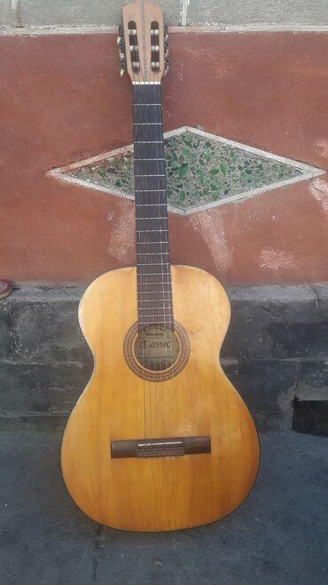 Спорт и хобби - Мыкан: Продаю гитару, 6ти струнную, состояние нормальное