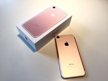 crocs 10 в Кыргызстан: Б/У iPhone 7 128 ГБ Розовое золото (Rose Gold)