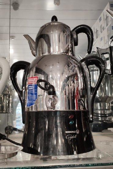 Samovar Elektrik samovarKorkmazTürkiyə istehsali50 bardak çay tutumu3
