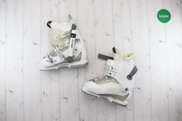 Спорт и отдых - Украина: Жіночі лижні чоботи Salomon, р. 39    Довжина підошви: 39   Стан: гарн