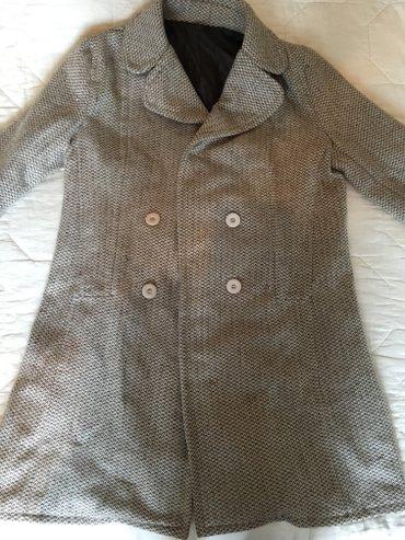 Ponco vuna akril - Srbija: Kaput, velicina m. Sastav vuna 45% i akrilik 55%