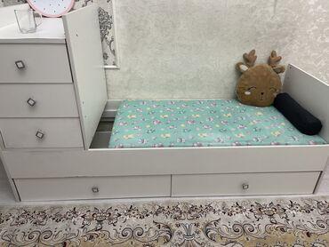 продам кресло кровать in Кыргызстан | ДИВАНЫ: Продаётся детский манеж два в одном