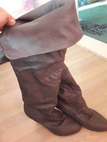 Ženska obuća | Novi Becej: POKLANJAM Sive cizme br.38,ima ostecenja,vidi se na slici