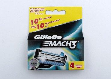 Ostalo - Pancevo: Gillette Mach3 sa četiri uloškaPotpuno novo u originalnom