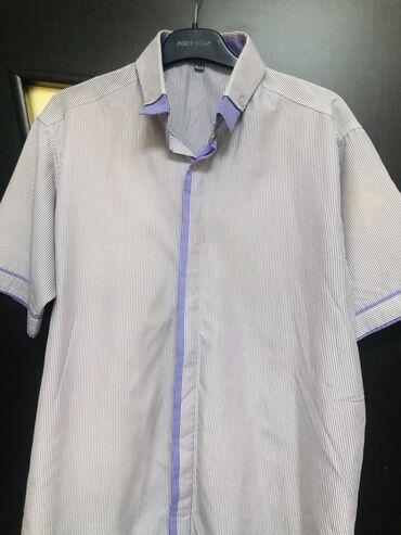 Рубашка мужская, куплена в Дубаи за 1800, 2 раза одета, размер