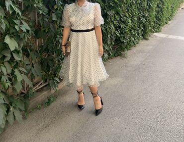 Продам платье турецкое размер М-Л, носила один раз