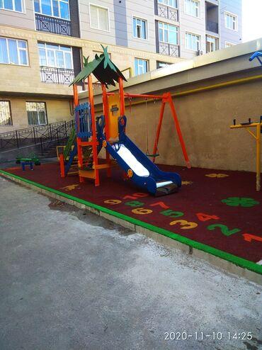 Ремонт и строительство - Кыргызстан: Бесшовное покрытие, детские площадки под ключ .   #резиноваяплиткабишк