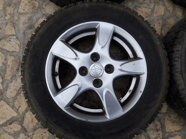 Комплект зимних колес 185/65/14, toyo observe 5, в Ош