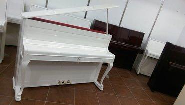 Bakı şəhərində Ağ rengde Çexoslovakiya istehsalı piano satılır - çatdırılma,