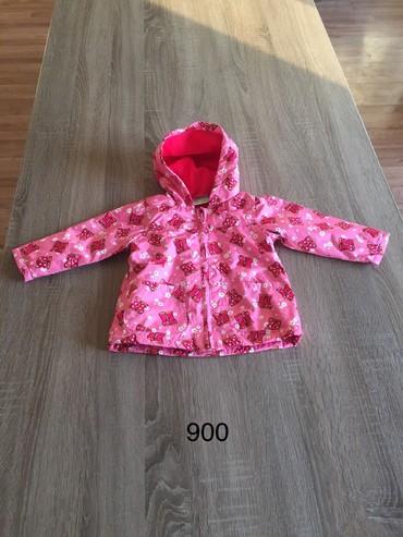 Dečije jakne i kaputi | Indija: Vel.86 Topolino topla, postavljena jakna za devojcice