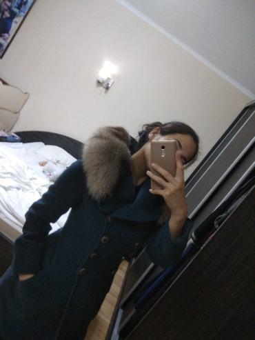 (1500сом с мехом )Продаю пальто турция фирма kent воротник натуральны