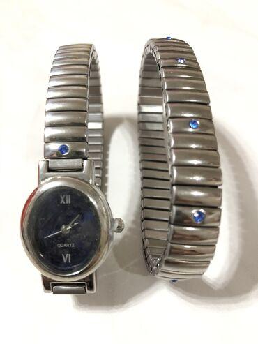 Часы Браслет Комплект  Брендовые  Quartz Стильно и модно Новые