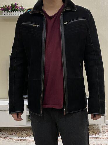 мужские куртки зимние бишкек в Кыргызстан: Мужская дубленка, носили 2-3 раза, почти новая